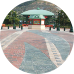 2004 - Marshalls secures contract to supply 40,000m² of paving materials to Disneyland, Hong Kong.